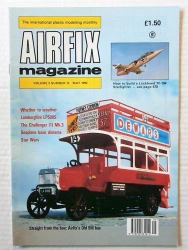 AIRFIX  AIRFIX MAGAZINE VOLUME 3 NUMBER 12 MAY 1992