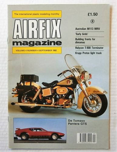 AIRFIX  AIRFIX MAGAZINE VOLUME 4 NUMBER 4 SEPTEMBER 1992