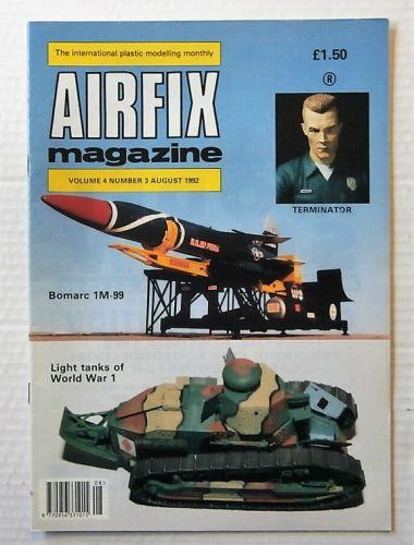 AIRFIX  AIRFIX MAGAZINE VOLUME 4 NUMBER 3 AUGUST 1992