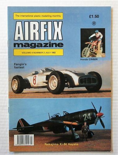 AIRFIX  AIRFIX MAGAZINE VOLUME 4 NUMBER 2 JULY 1992
