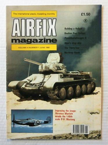 AIRFIX  AIRFIX MAGAZINE VOLUME 4 NUMBER 1 JUNE 1992