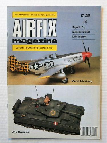 AIRFIX  AIRFIX MAGAZINE VOLUME 4 NUMBER 7 DECEMBER 1992