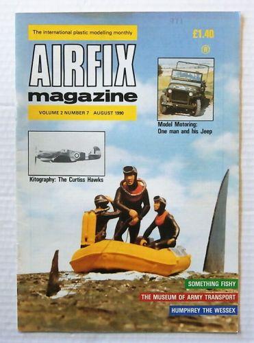 AIRFIX  AIRFIX MAGAZINE VOLUME 2 NUMBER 7 AUGUST 1990