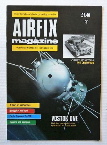AIRFIX  AIRFIX MAGAZINE VOLUME 2 NUMBER 8 OCTOBER 1990