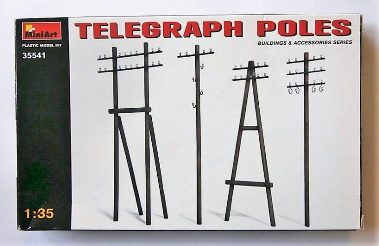 MINIART 1/35 35541 TELEGRAPH POLES