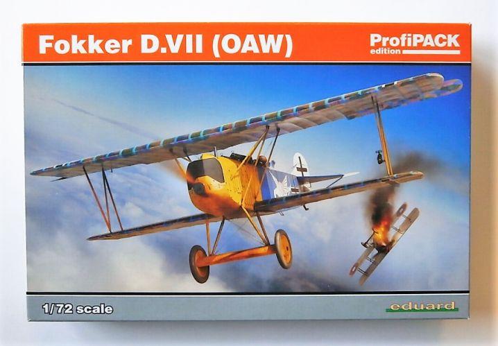 EDUARD 1/72 70131 FOKKER D.VII  OAW