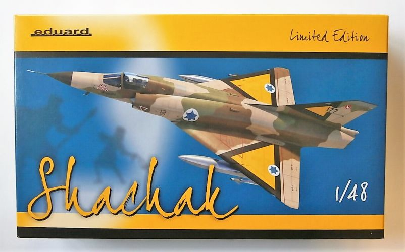 EDUARD 1/48 11128 SHACHAK - MIRAGE IIIC IN ISRAELI SERVICE  LIMITED EDITION