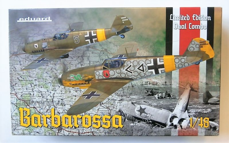 EDUARD 1/48 11127 BARBAROSSA - Bf 109E-4/E-7 AND Bf 109F-2 ON THE EASTERN FRONT 1941  LIMITED EDITION DUAL COMBO
