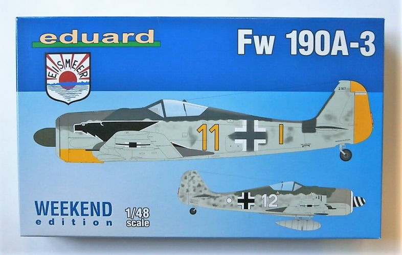 EDUARD 1/48 84112 Fw 190A-3
