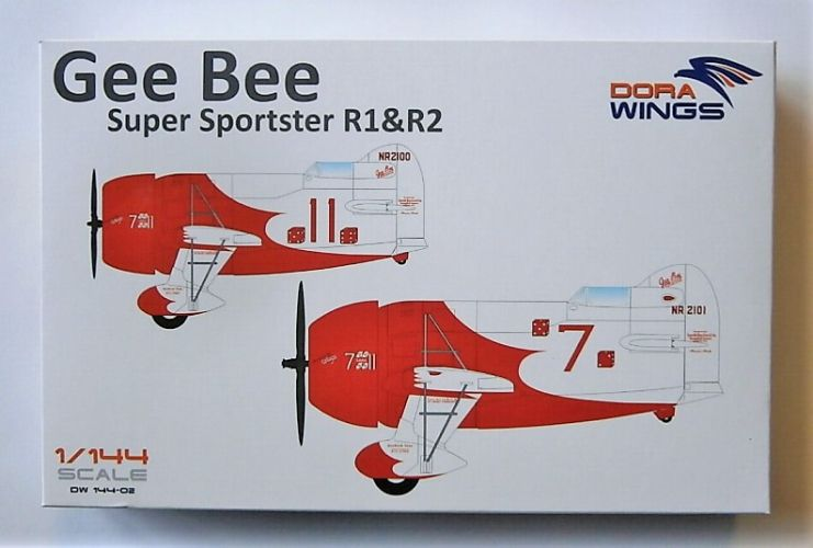DORA WINGS 1/144 144-02 GEE BEE SUPER SPORTSTER R1 AND R2
