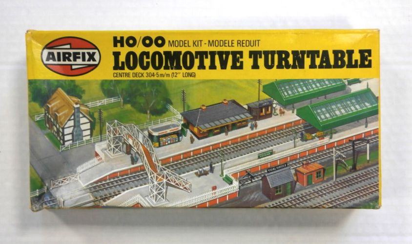 AIRFIX HO/OO 03626 LOCOMOTIVE TURNTABLE CENTRE DECK 12in LONG