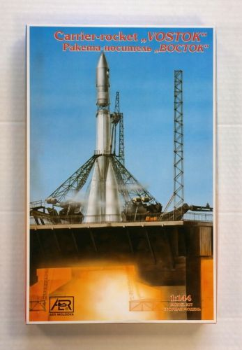 AER 1/144 14402 CARRIER ROCKET VOSTOK