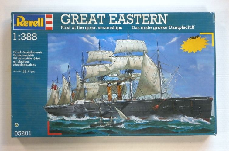 REVELL  05201 GREAT EASTERN STEAMSHIP SCALE 1/388