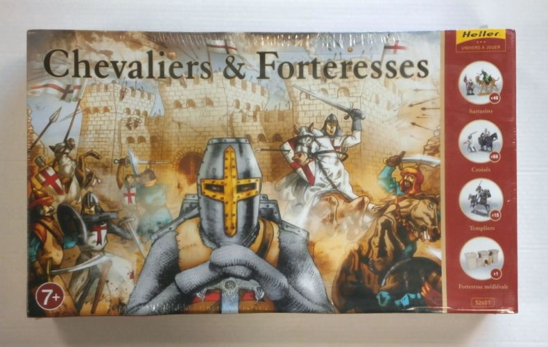 HELLER 1/72 52607 CHEVALIERS   FORTERESSES  UK SALE ONLY