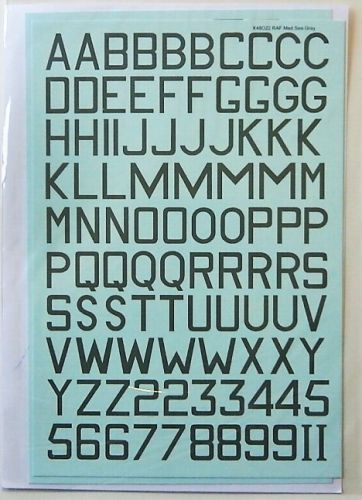 XTRADECAL 1/48 48022 RAF FIGHTER CODES MEDIUM SEA GREY 24   30