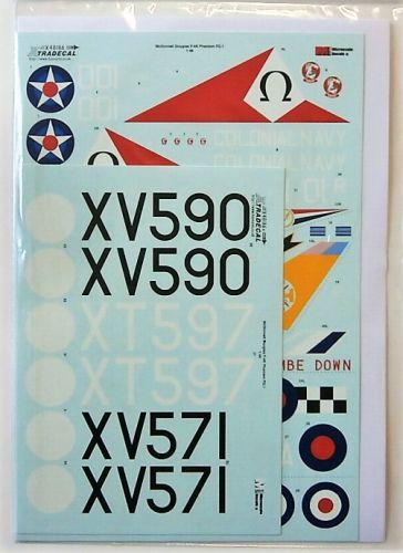XTRADECAL 1/48 48186 McDONNELL DOUGLAS F-4K PHANTOM FG.1