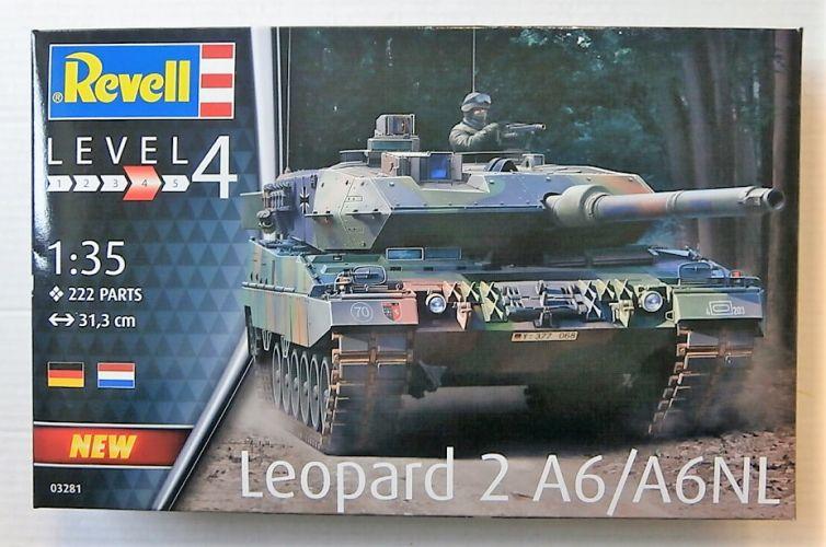 REVELL 1/35 03281 LEOPARD 2 A6/ A6NL