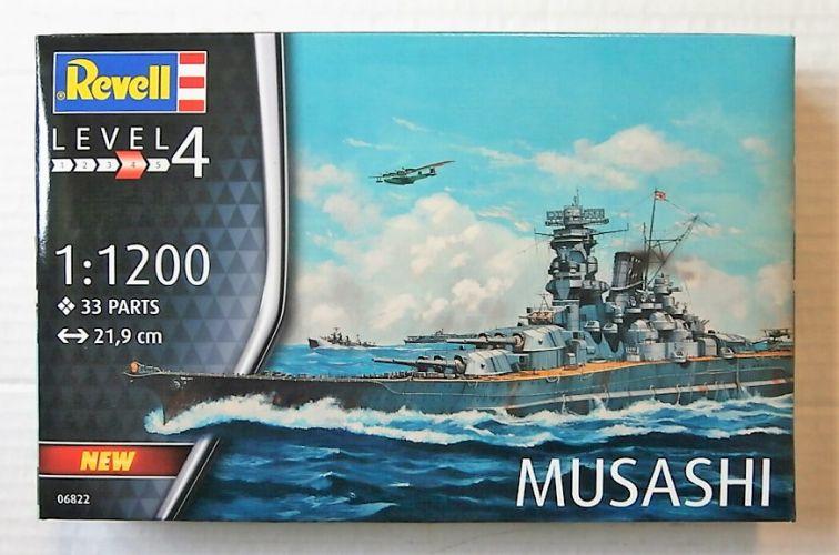REVELL 1/1200 06822 MUSASHI