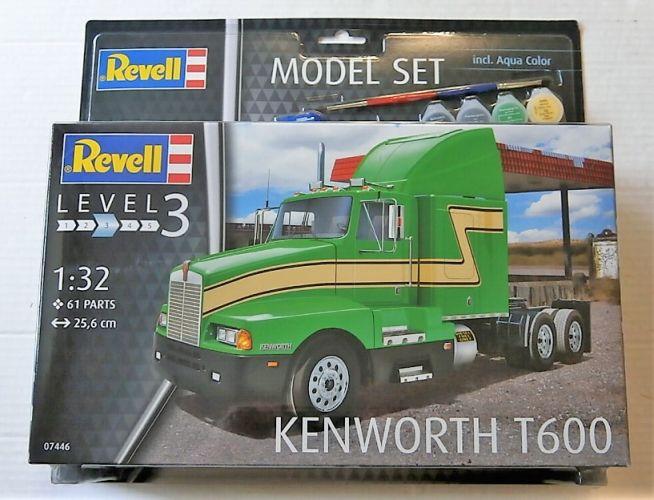 REVELL 1/32 67446 KENWORTH T600 MODEL SET