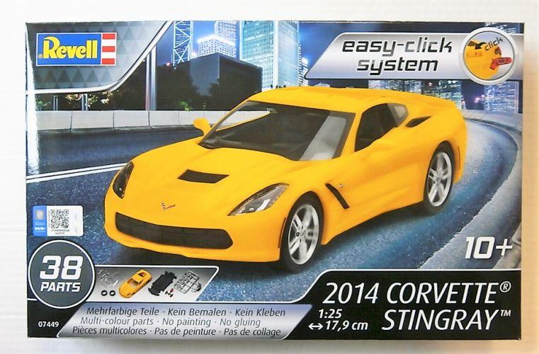 REVELL 1/25 07449 2014 CORVETTE STINGRAY