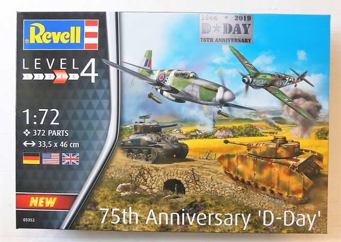 REVELL 1/72 03352 75TH ANNIVERSARY D-DAY SET