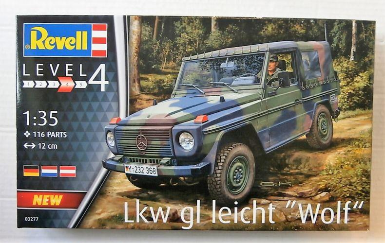 REVELL 1/35 03277 LKW GL LEICHT WOLF
