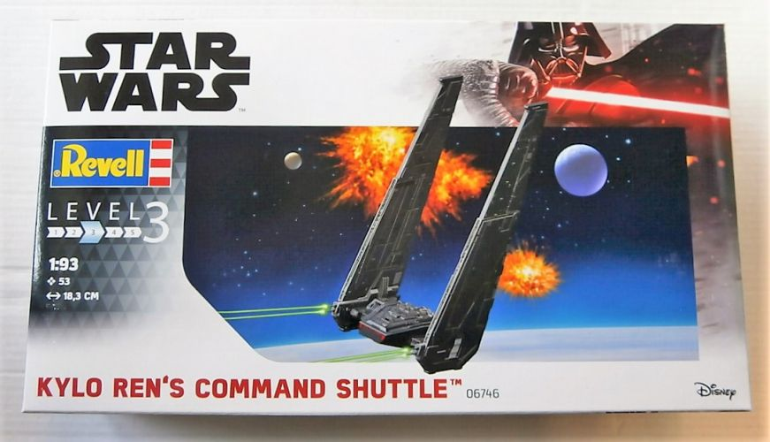 REVELL 1/93 06746 STAR WARS KYLO RENS COMMAND SHUTTLE