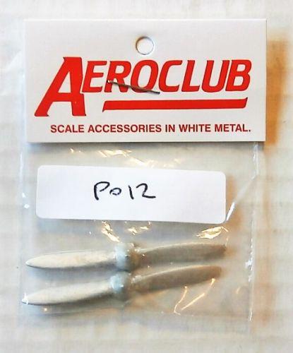 AEROCLUB 1/72 P012 2 x 1/72 WATTS 2BLD L/H