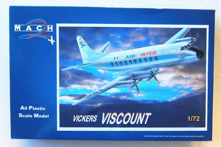 MACH 1/72 GP103 VICKERS VISCOUNT AIR INTER