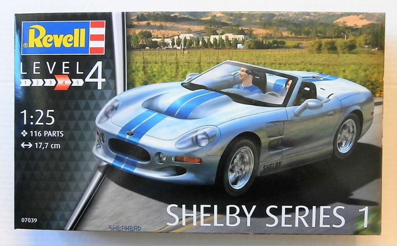 REVELL 1/25 07039 SHELBY SERIES 1