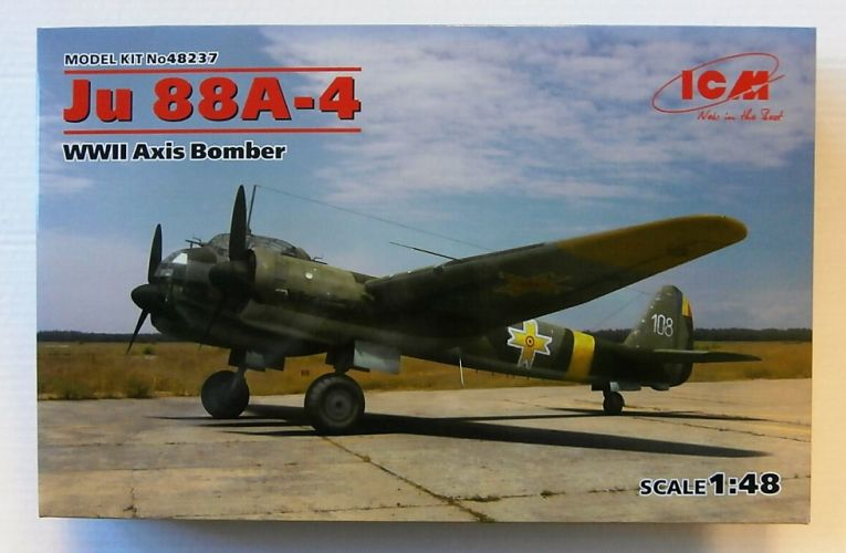 ICM 1/48 48237 JU 88A-4 WWII AXIS BOMBER