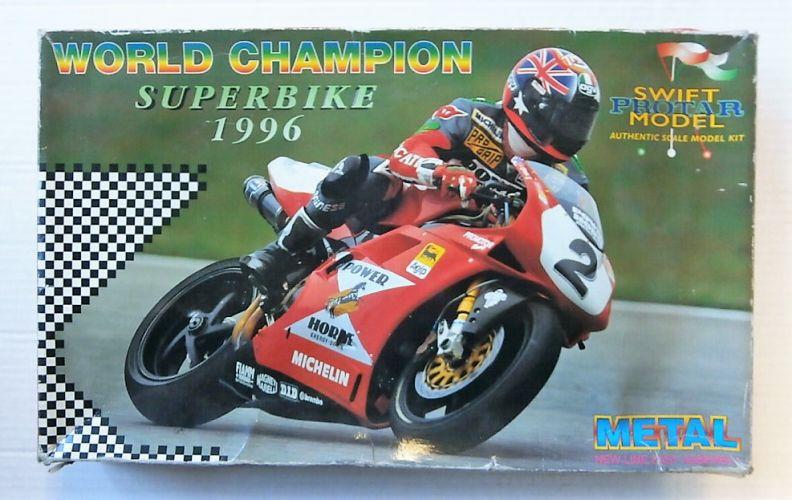 PROTAR 1/9 13279 DUCATI 916 DESMOQUATTRO WORLD CHAMPION SUPERBIKE 1996