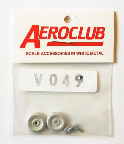AEROCLUB 1/72 V049 FIREBRAND DUNLOP BALLOON WHEELS   TAILWHEEL