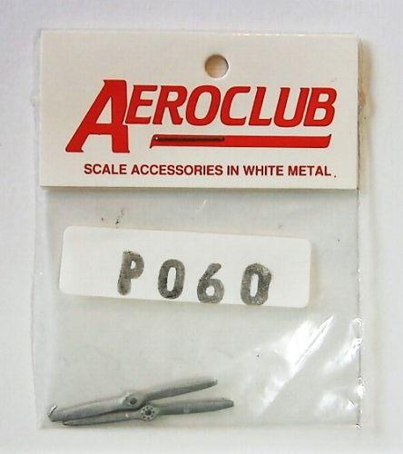 AEROCLUB 1/72 P060 2 BLD WOODEN 7  DIA L/H X 2