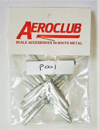 AEROCLUB 1/72 P001 4 x ROTOL DART 4 BLD 14  DIA. RH PROPS