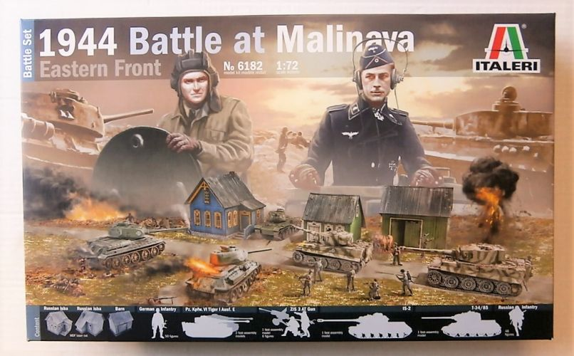 ITALERI 1/72 6182 1944 BATTLE AT MALINAVA