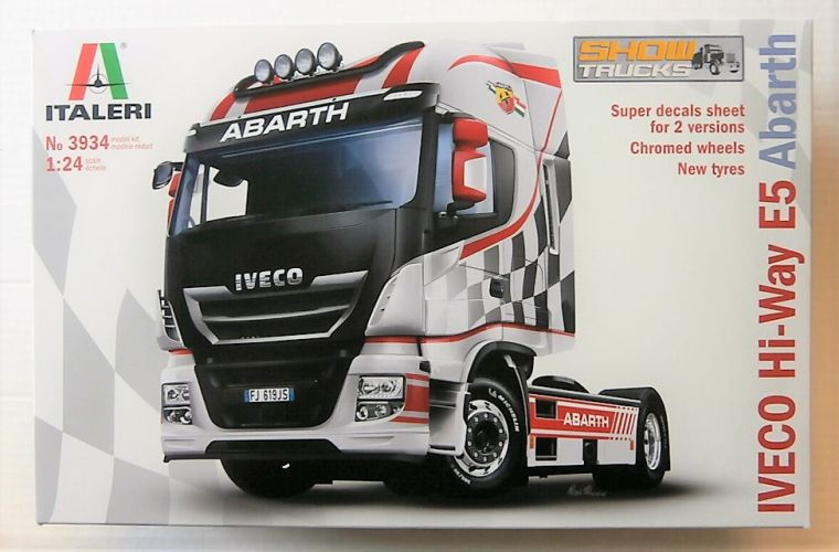ITALERI 1/24 3934 IVECO HI-WAY E5 ABARTH