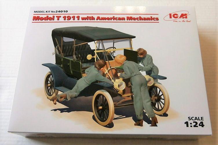 ICM 1/24 24010 MODEL T 1911 WITH AMERICAN MECHANICS