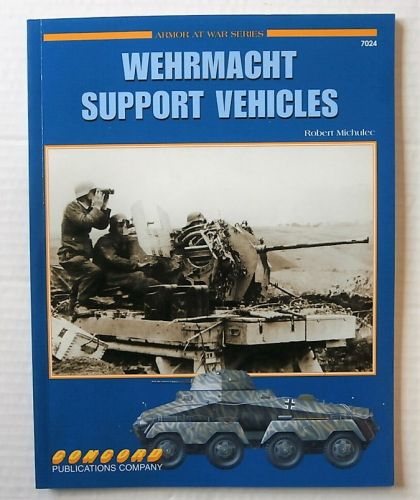 CONCORD ARMOUR AT WAR SERIES  7024. WEHRMACHT SUPPORT VEHICLES