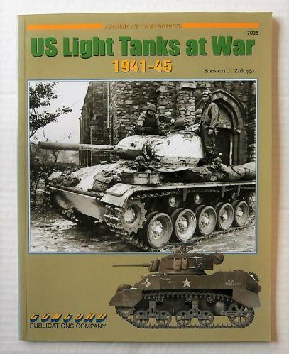 CONCORD ARMOUR AT WAR SERIES  7038. US LIGHT TANKS AT WAR 1941-45