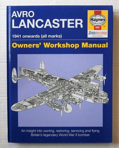 CHEAP BOOKS  ZB1808 HAYNES AVRO LANCASTER 1941 ONWARDS  ALL MARKS