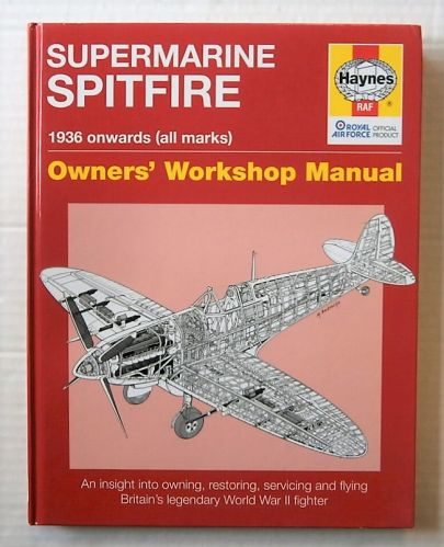 CHEAP BOOKS  ZB1804 HAYNES SUPERMARINE SPITFIRE 1936 ONWARDS  ALL MARKS