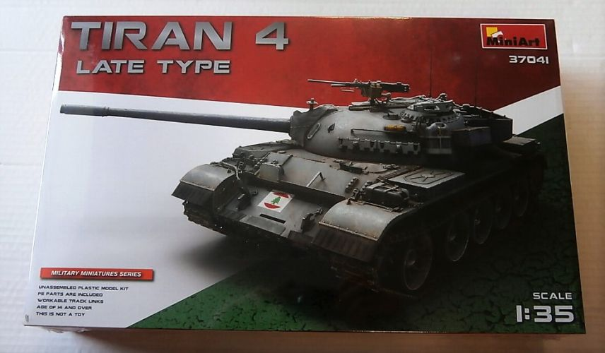 MINIART 1/35 37041 LATE TYPE TIRAN 4