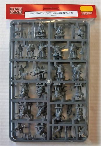 PLASTIC SOLDIER 1/72 WW2020003 GERMAN INFANTRY