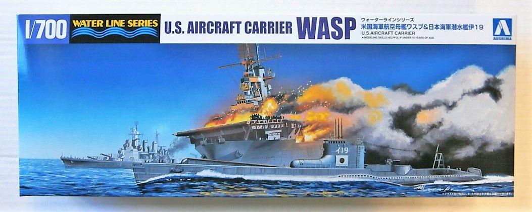 AOSHIMA 1/700 010303 U.S. AIRCRAFT CARRIER WASP