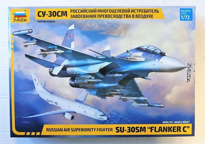 ZVEZDA 1/72 7314 SUKHOI SU-30SM FLANKER C