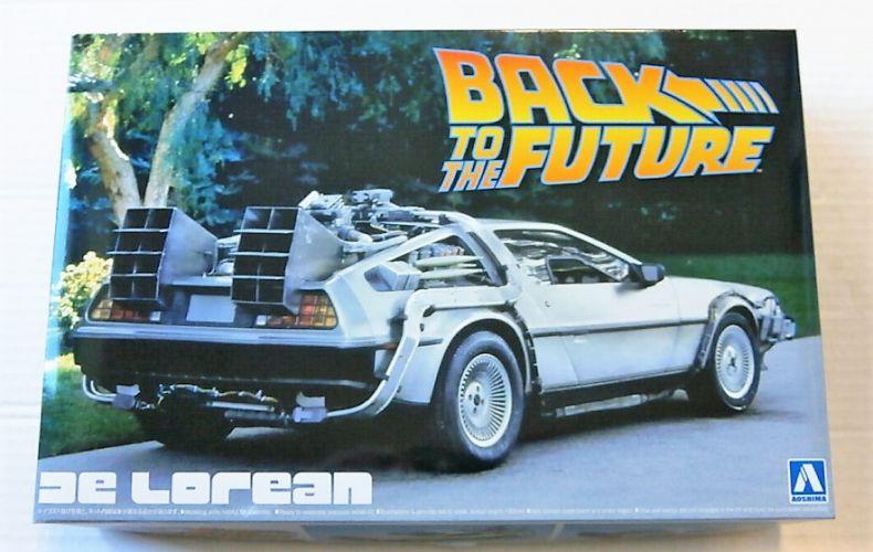 AOSHIMA 1/24 01185 BACK TO THE FUTURE DELOREAN