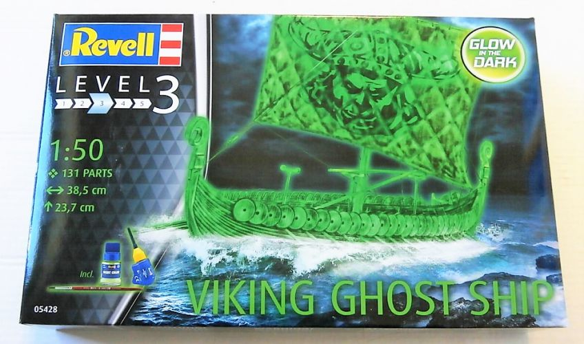 REVELL 1/50 05428 VIKING GHOST SHIP - GLOW IN THE DARK