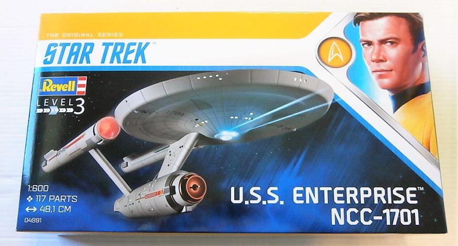 REVELL 1/600 04991 U.S.S. ENTERPRISE NCC-1701