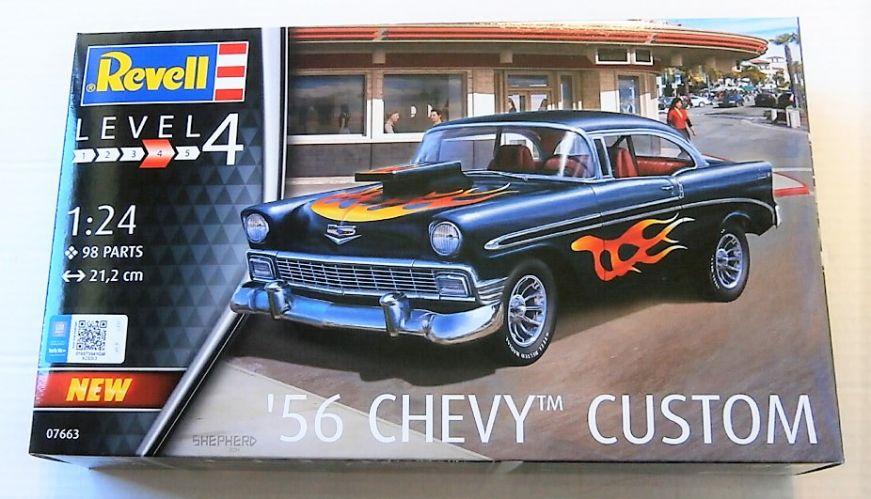 REVELL 1/24 07663 1956 CHEVY CUSTOM